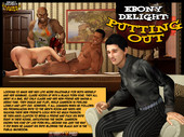 Ebony Delight - Putting Out