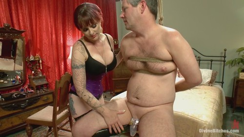 Lance hart teased by sully savage femdom boots
