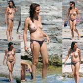 Eva Santolaria Pillada En Topless Formentera